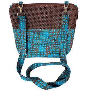 Picture of Blue and Brown  All in One Bonding Pouch (small)